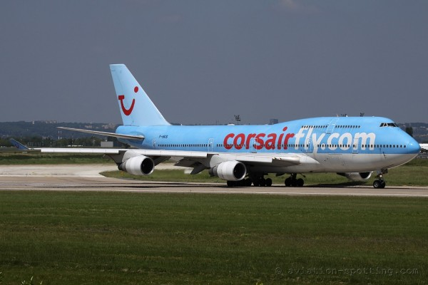 Corsairfly Boeing B747-400 (France)