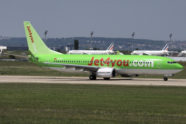 Jet4you Boeing B737-800 (Morocco)