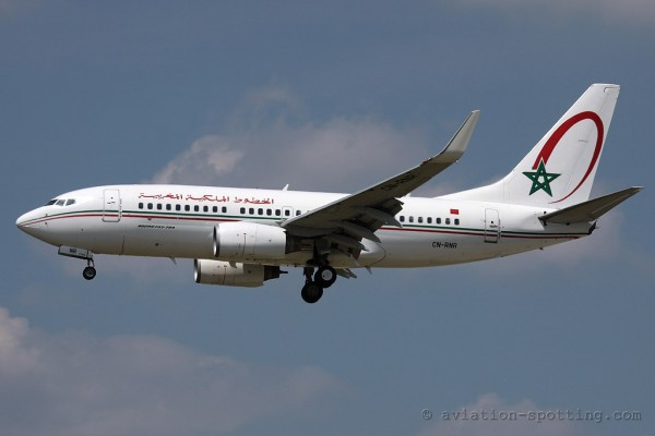 Royal Air Maroc Boeing B737-700 (Morocco)
