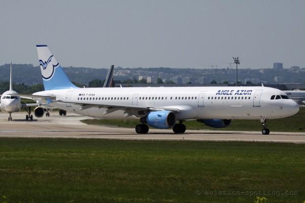 Aigle Azur Airbus 321 (France)
