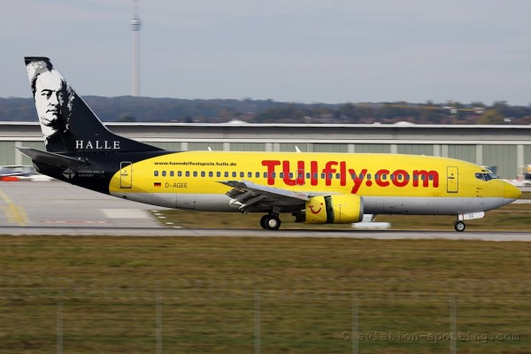 TUIfly Boeing B737-300 Lepzig-Halle special colours (Germany)