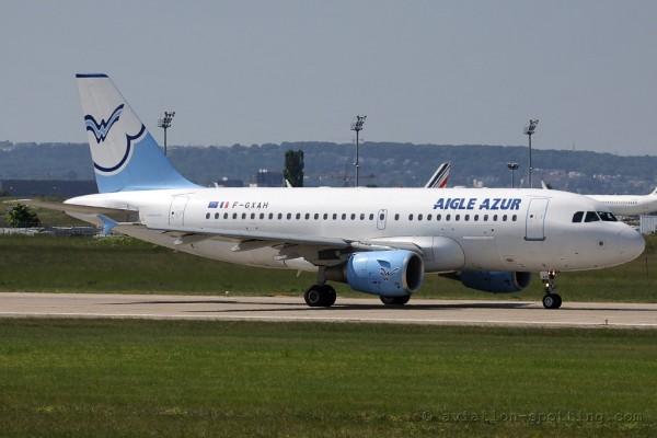 Aigle Azur Airbus 319 (France)