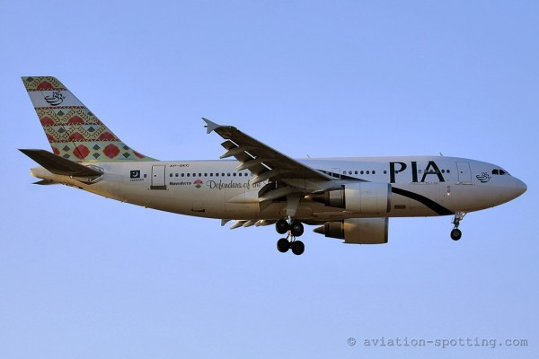 Pakistan International Airlines Airbus 310