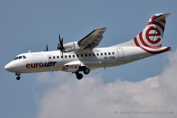 EuroLOT Aerospatiale ATR 42 (Poland)