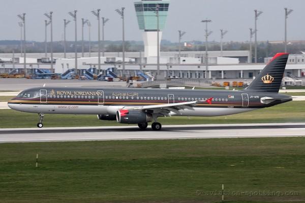 Royal Jordanian Airlines Airbus 321