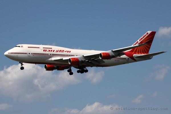 Air India Boeing B747-400