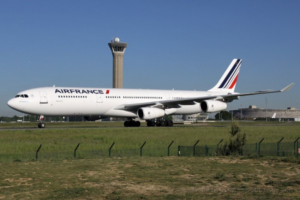 Air France Airbus 340-300 new colours