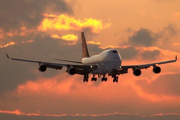 Air Cargo Germany Boeing B747-400 F