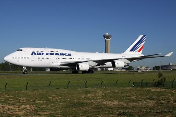Air France Boeing B747-400