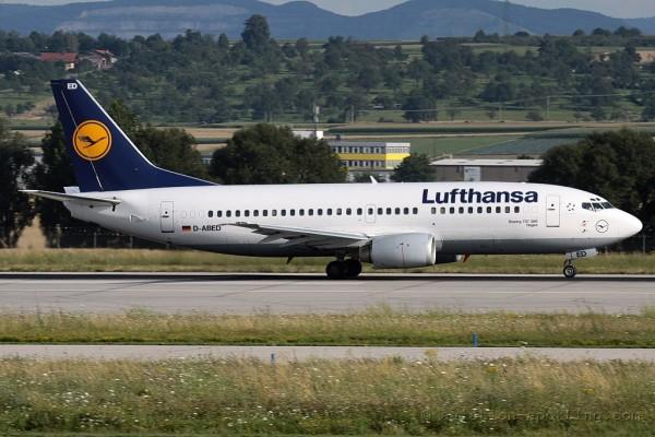 Lufthansa Boeing B737-300 (Germany)
