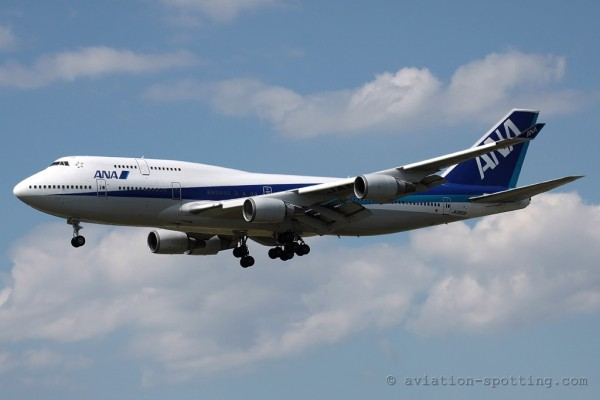 All Nippon Airways Boeing B747-400 (Japan)