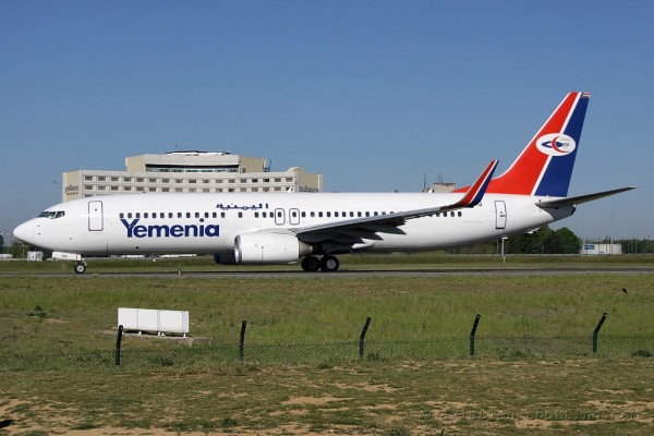 Yemenia - Yemen Airways Boeing B737-800
