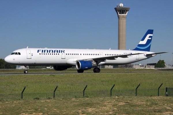 Finnair Airbus 321 old colours (Finland)