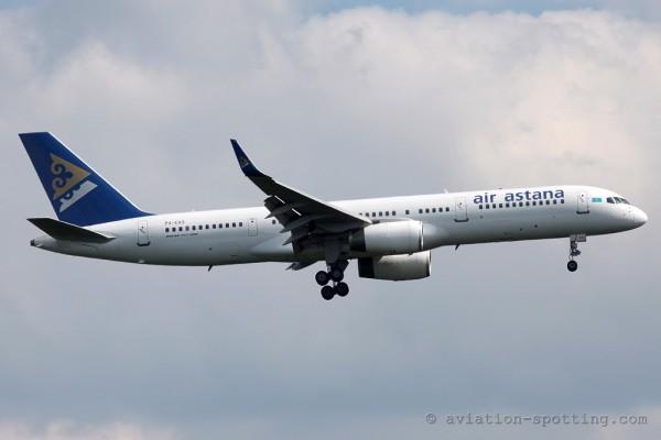 Air Astana Boeing B757-200 (Kazhakstan)