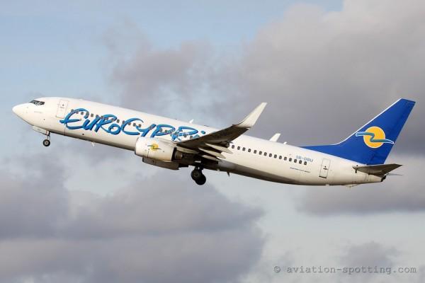 Eurocypria Boeing B737-800 (Cyprus)