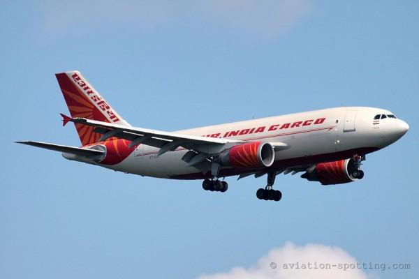 Air India Cargo Airbus 310 F