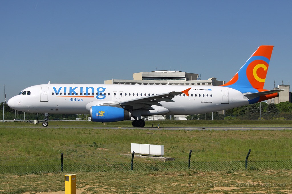 Viking Hellas Airbus A320 (Greece)