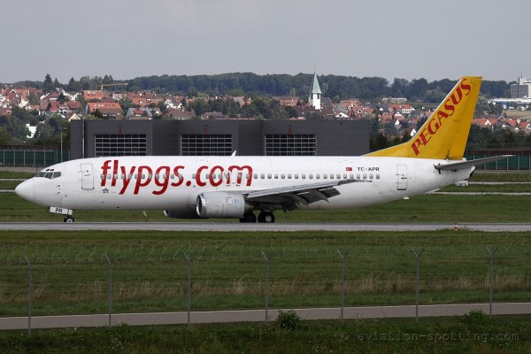Pegasus Airlines Boeing B737-400 (Turkey)