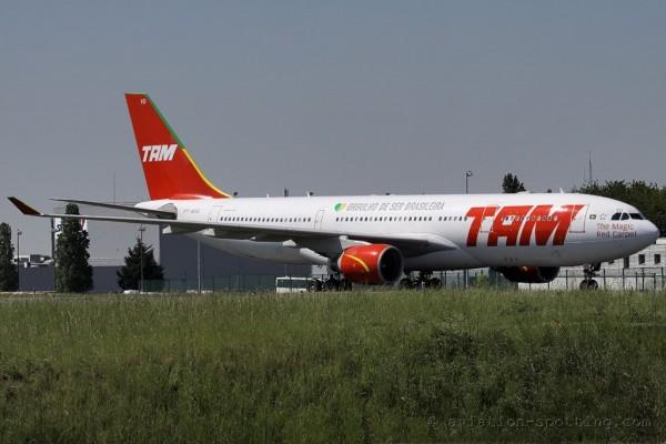 TAM Linhas Aereas Airbus 330-200 old colours (Brazil)
