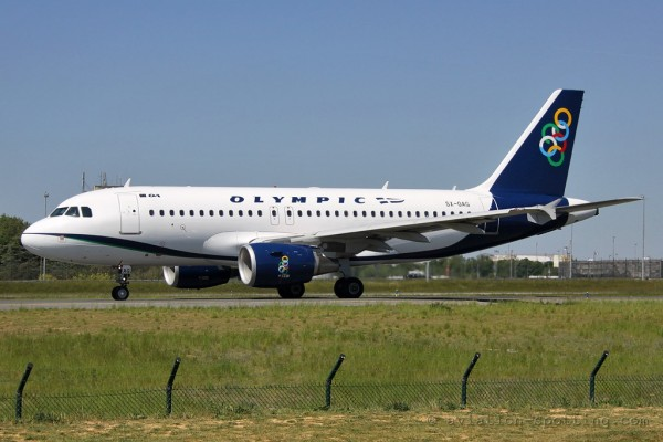 Olympic Air Airbus 319 (Greece)