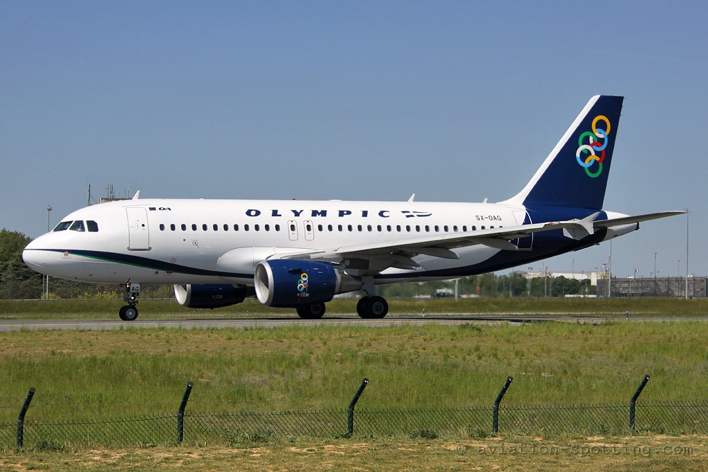 Olympic Air Airbus A319 (Greece)