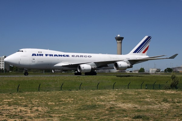 Air France Cargo Boeing B747-400 F