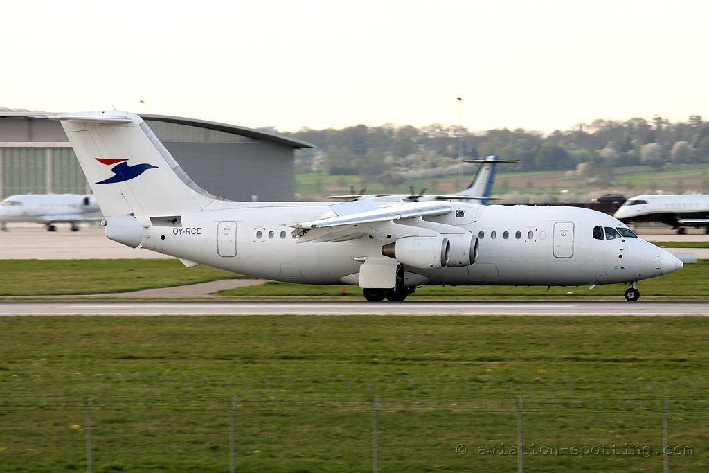 Atlantic Airways BAe Avro RJ-85 (Faroe Islands)