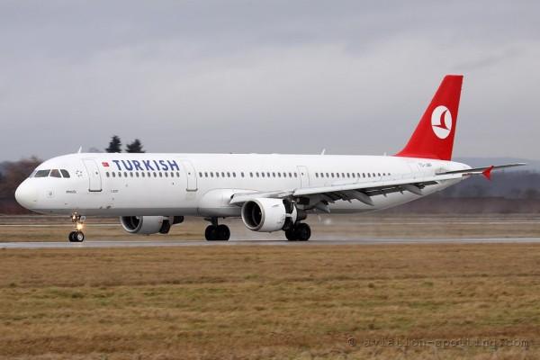 Turkish Airlines Airbus 321