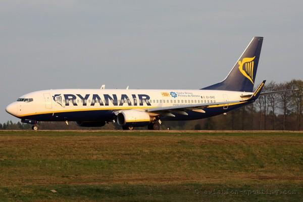 Ryanair Boeing B737-800 (Ireland)