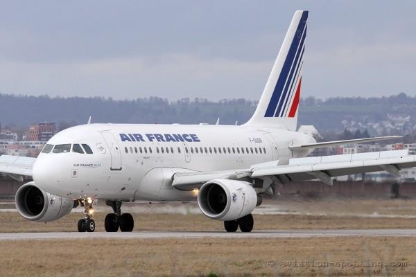 Air France Airbus 318
