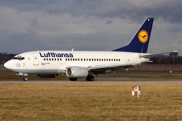 Lufthansa Boeing B737-500 (Germany)