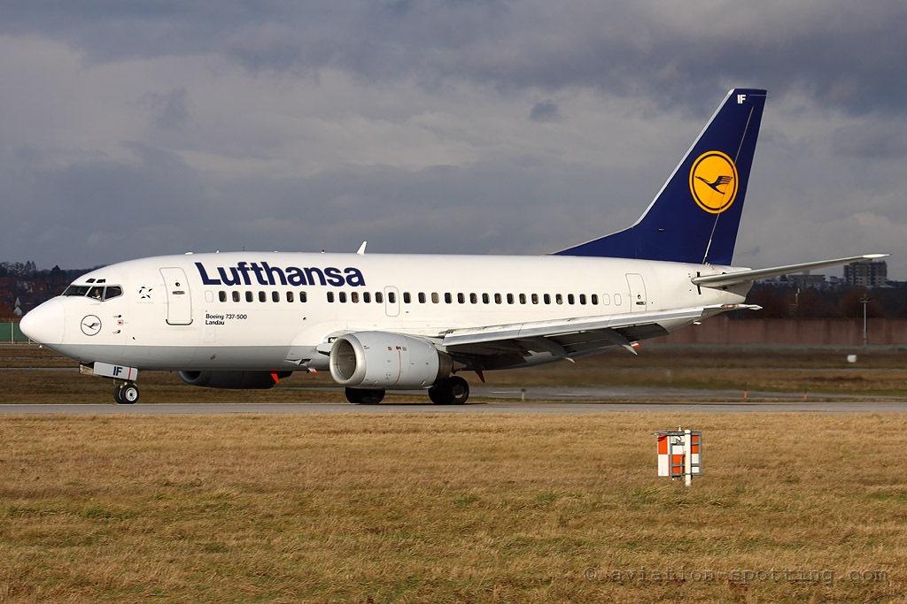 Lufthansa Boeing 737-500 (Germany)