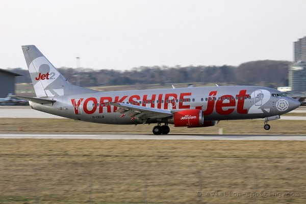 Jet2.com Boeing B737-300 Yorkshire special colours (UK)