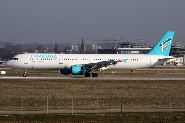 Turkuaz Airlines Airbus 321 (Turkey)