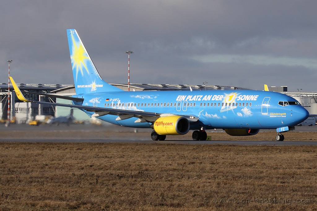 TUIfly Boeing B737-800 Lottery special colours (Germany)