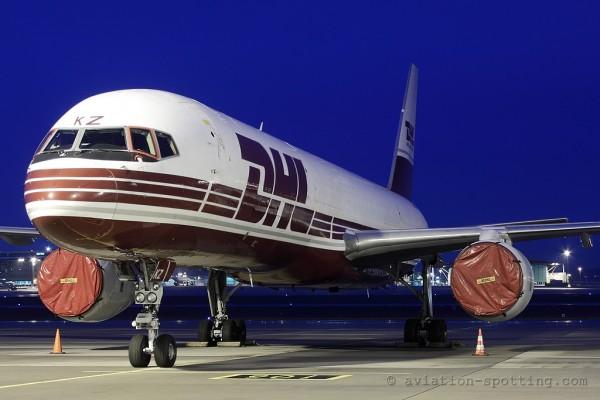 DHL Air Boeing B757-200F