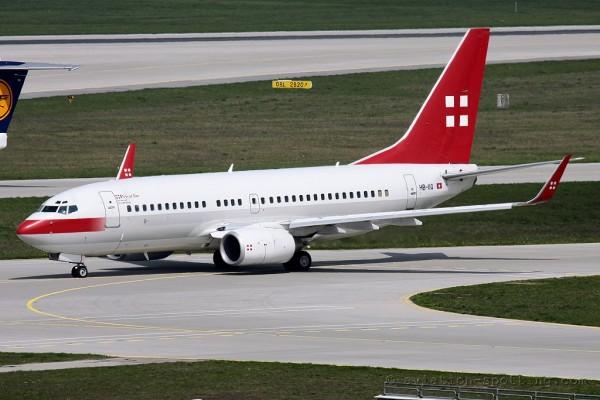 PrivatAir Boeing B737-700 BBJ (Switzerland)