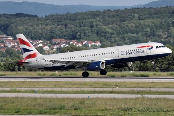 British Airways Airbus 321