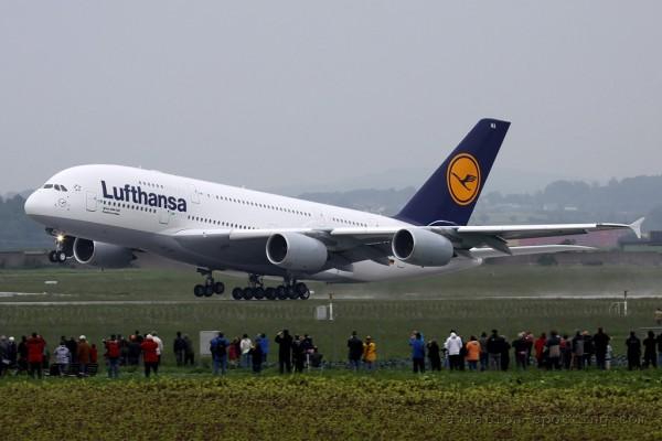 Lufthansa Airbus 380 (Germany)