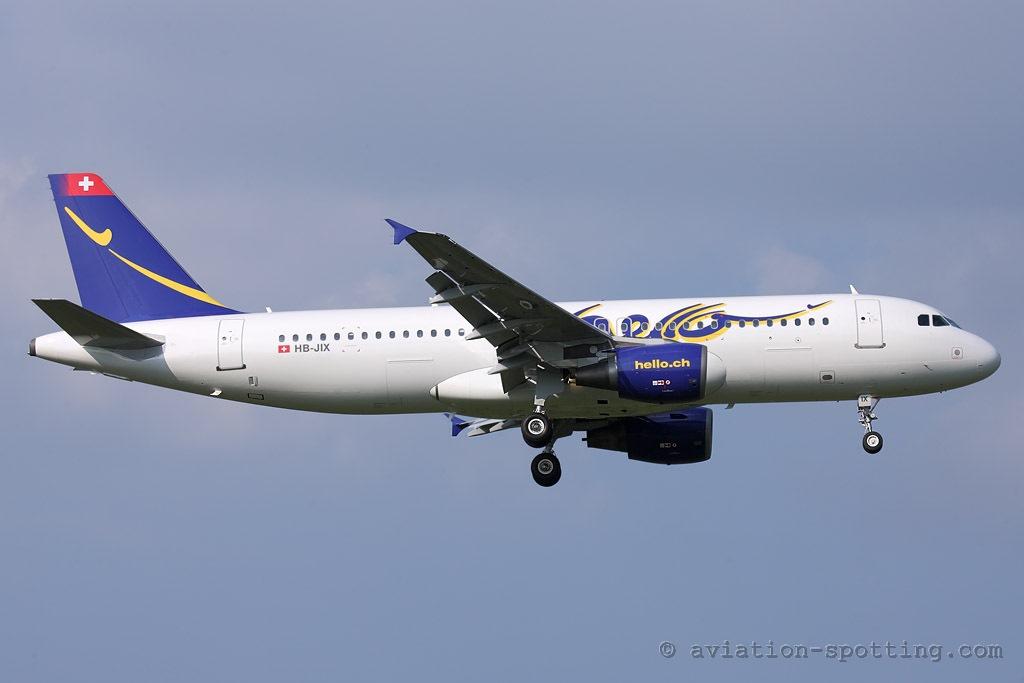 Hello Airbus A320 (Switzerland)