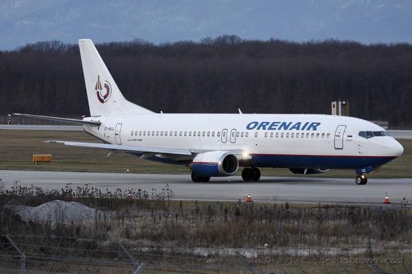 Orenair Boeing B737-400 (Russia)