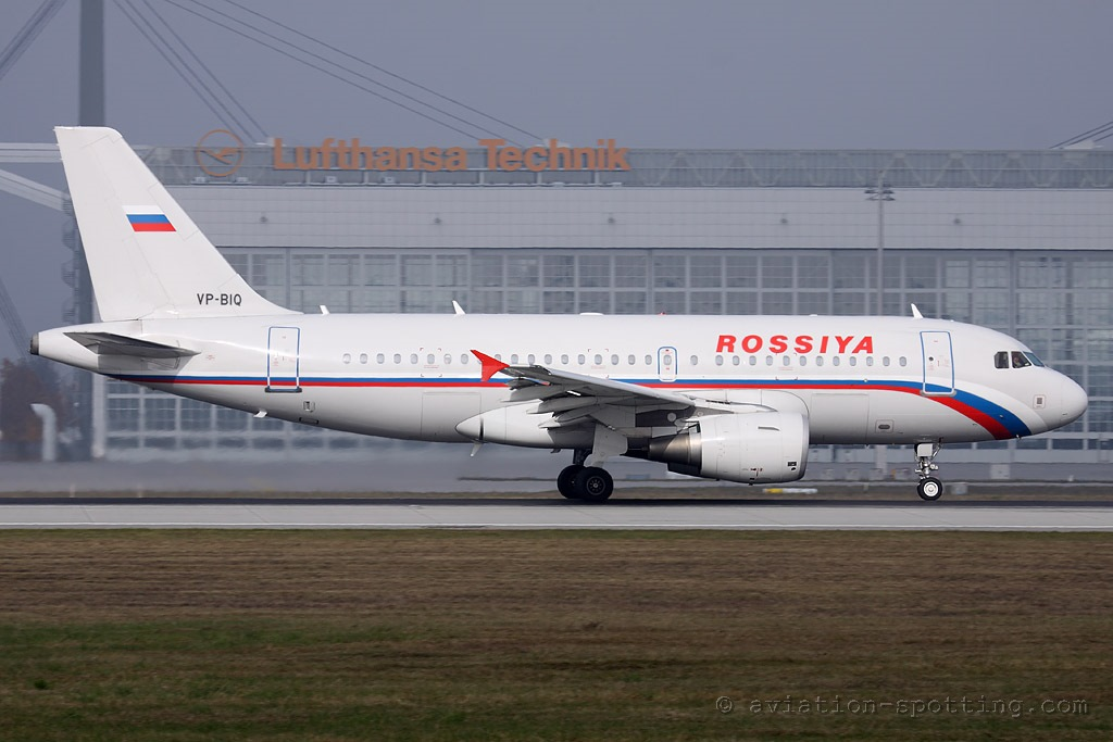Rossiya Airlines Airbus A319 (Russia)