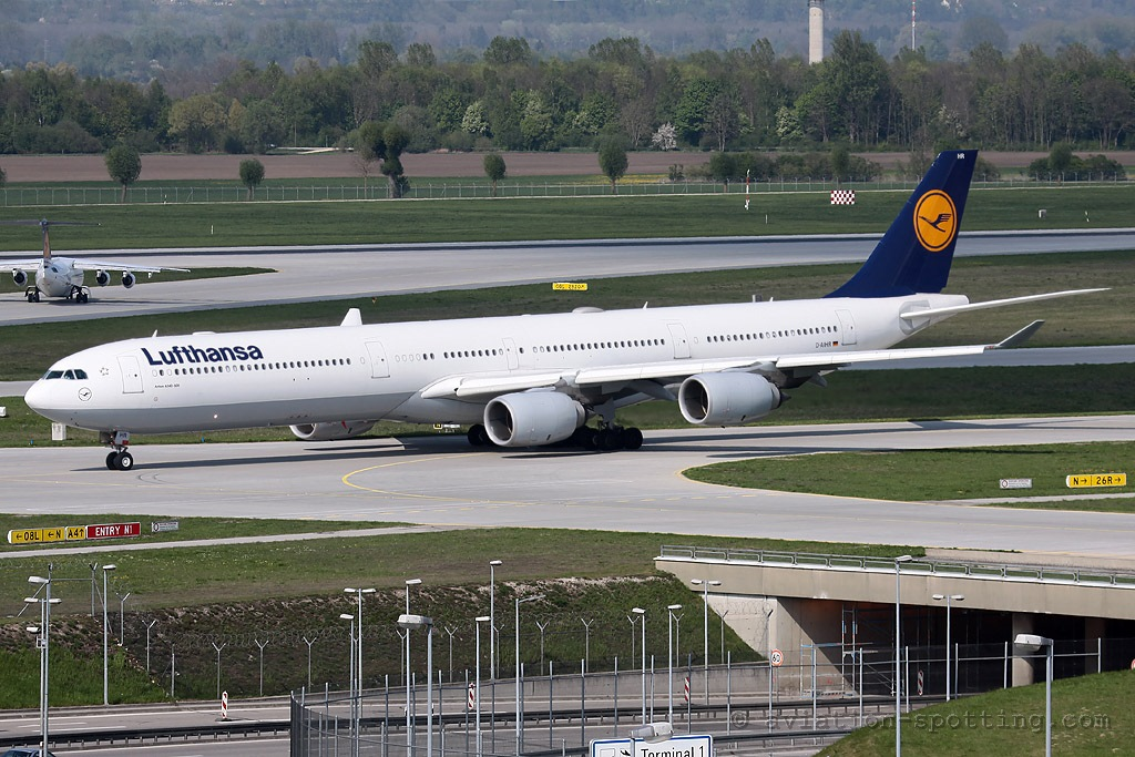 Lufthansa Airbus A340-600 (Germany)