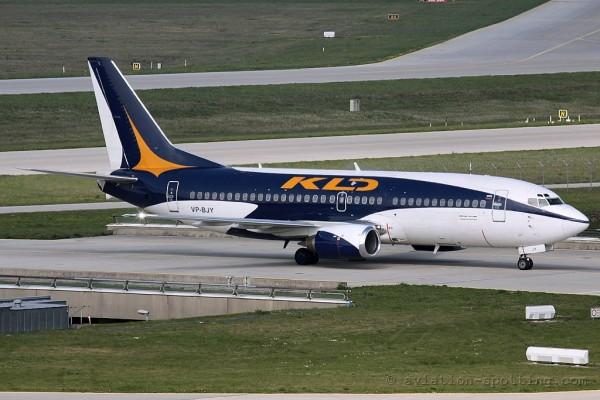 KD Avia Boeing B737-300 (Russia)