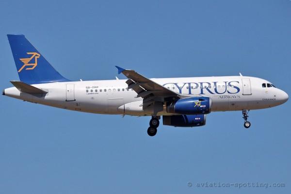 Cyprus Airways Airbus 319
