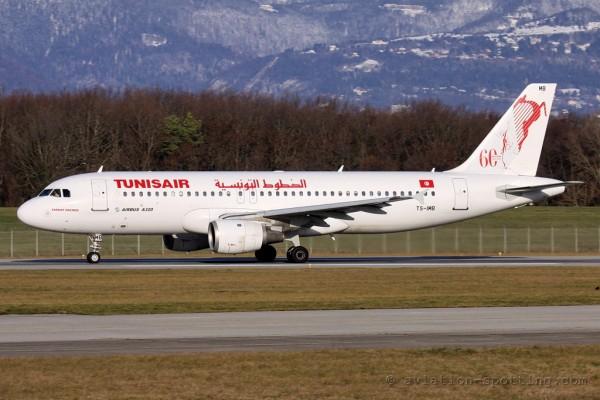 Tunisair Airbus 320 (Tunisia)