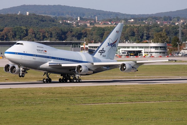 NASA/DLR Boeing B747SP