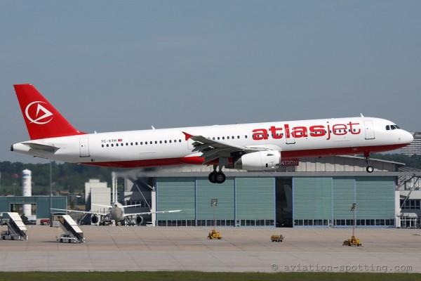 Atlasjet Airbus 321 (Turkey)