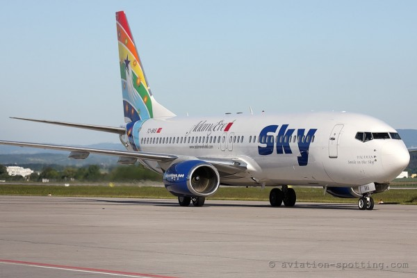 Sky Airlines Boeing B737-800 (Turkey)