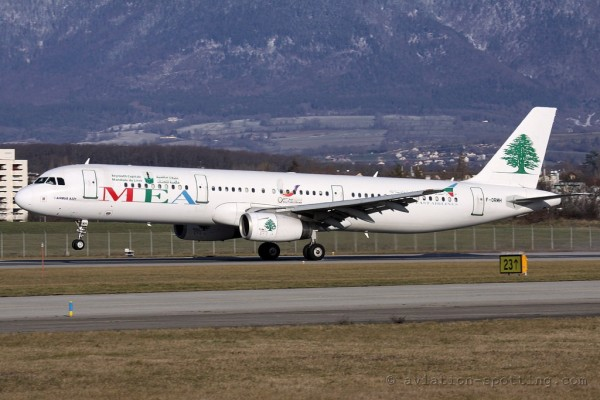 MEA Middle East Airlines Airbus 321 (Lebanon)
